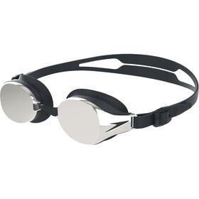 speedo Hydropure Mirror Gogle, black/chrome